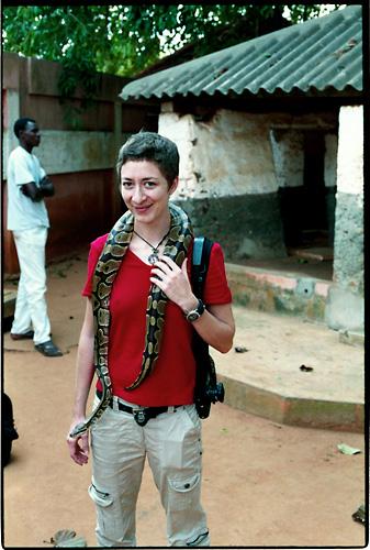 ouidah python sacré