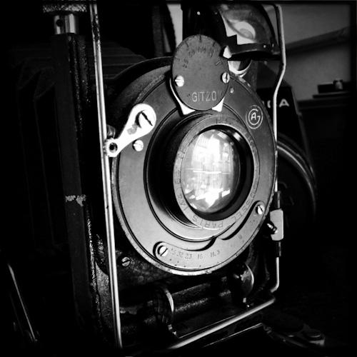vieil appareil photo gitzo soufflet