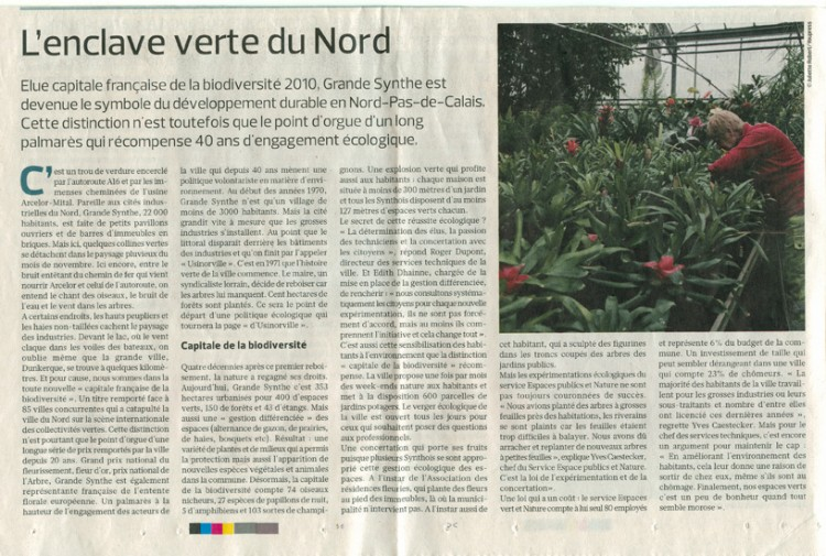 Le Figaro - 23 novembre 2010