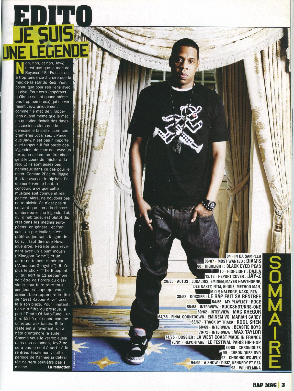 Rap Mag - septembre 2009