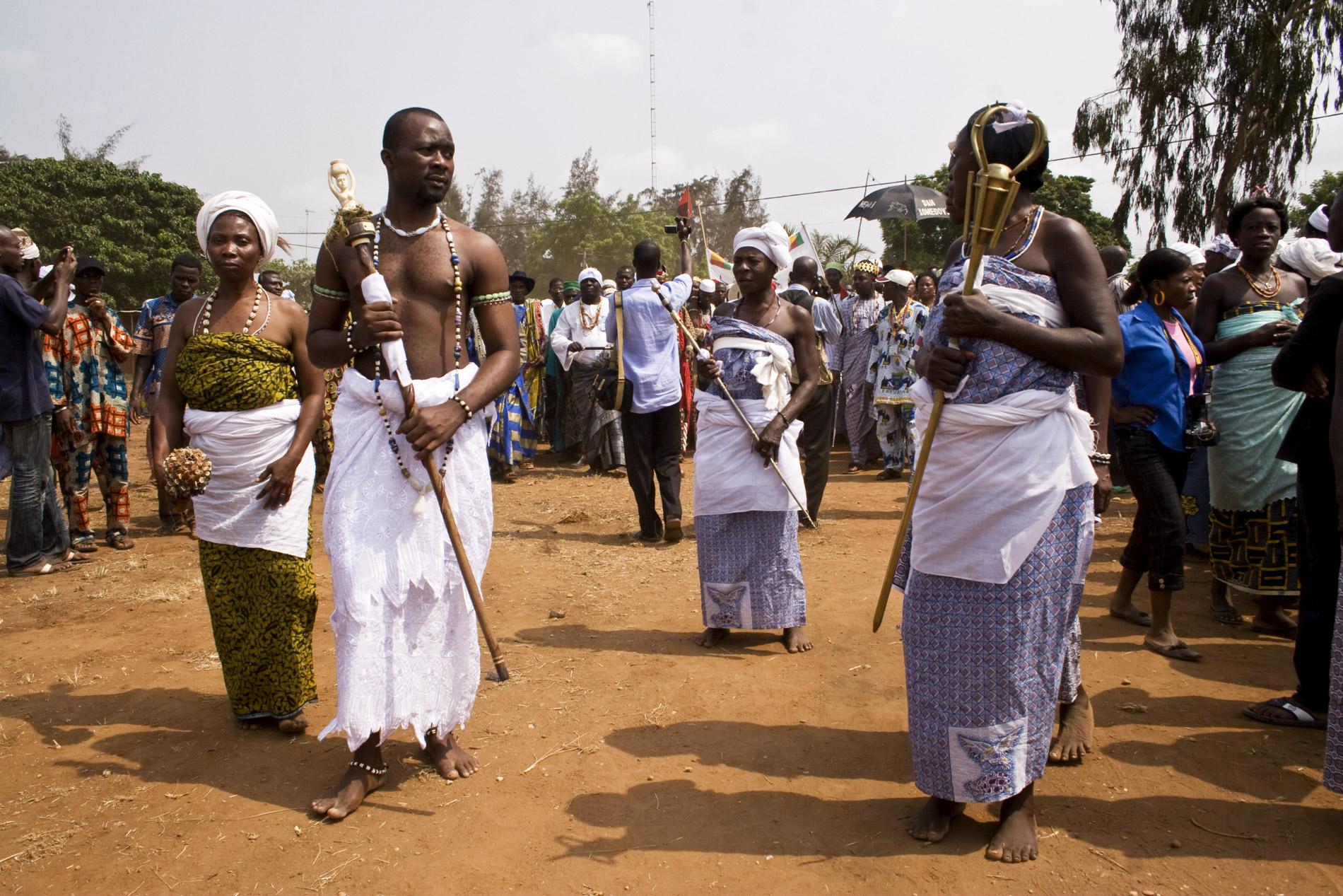 Fête du vaudou au Bénin - 2009