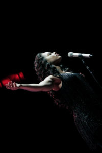 Alicia Keys à Bercy le 27-03-2008 thumbnail