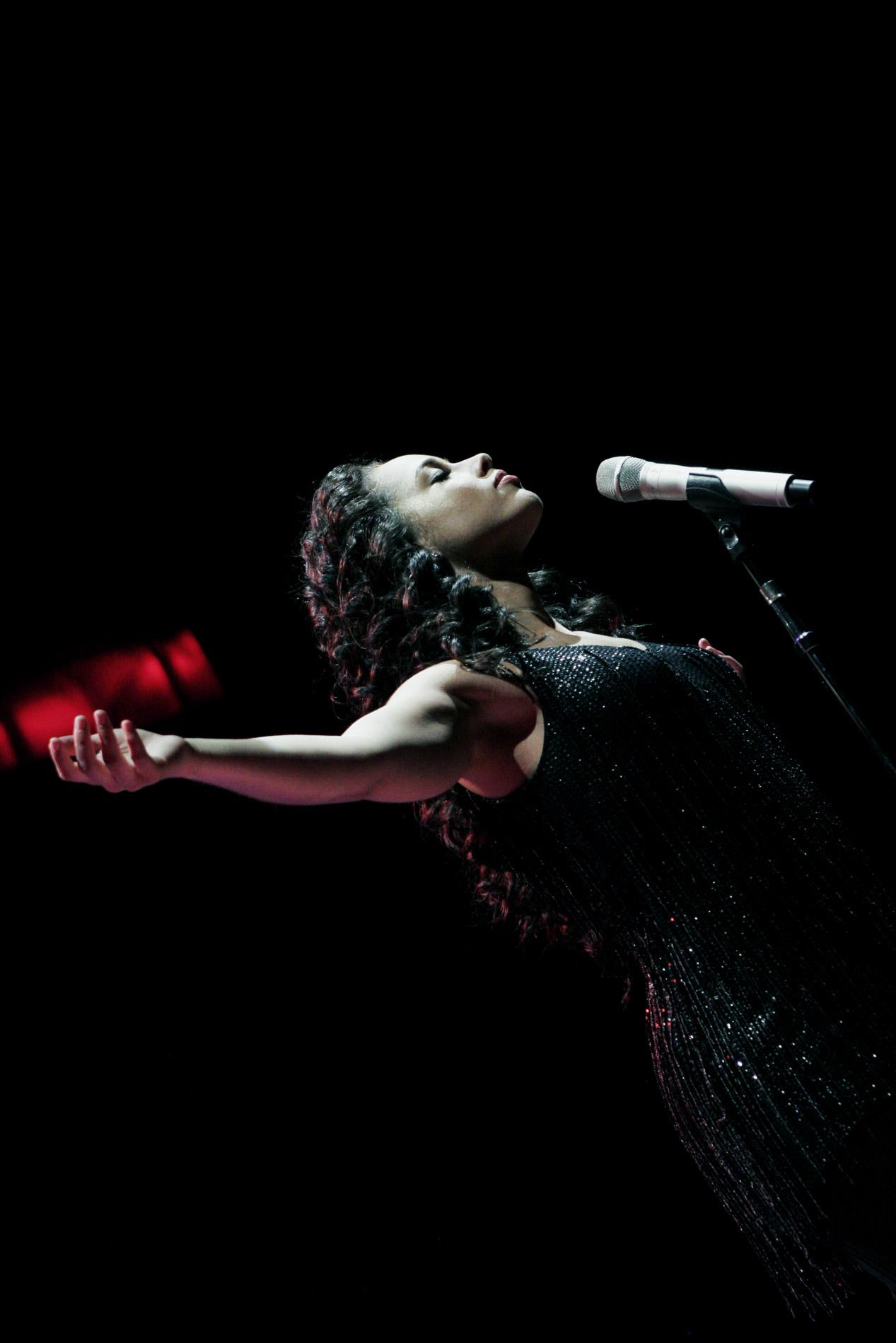 Alicia Keys à Bercy le 27-03-2008