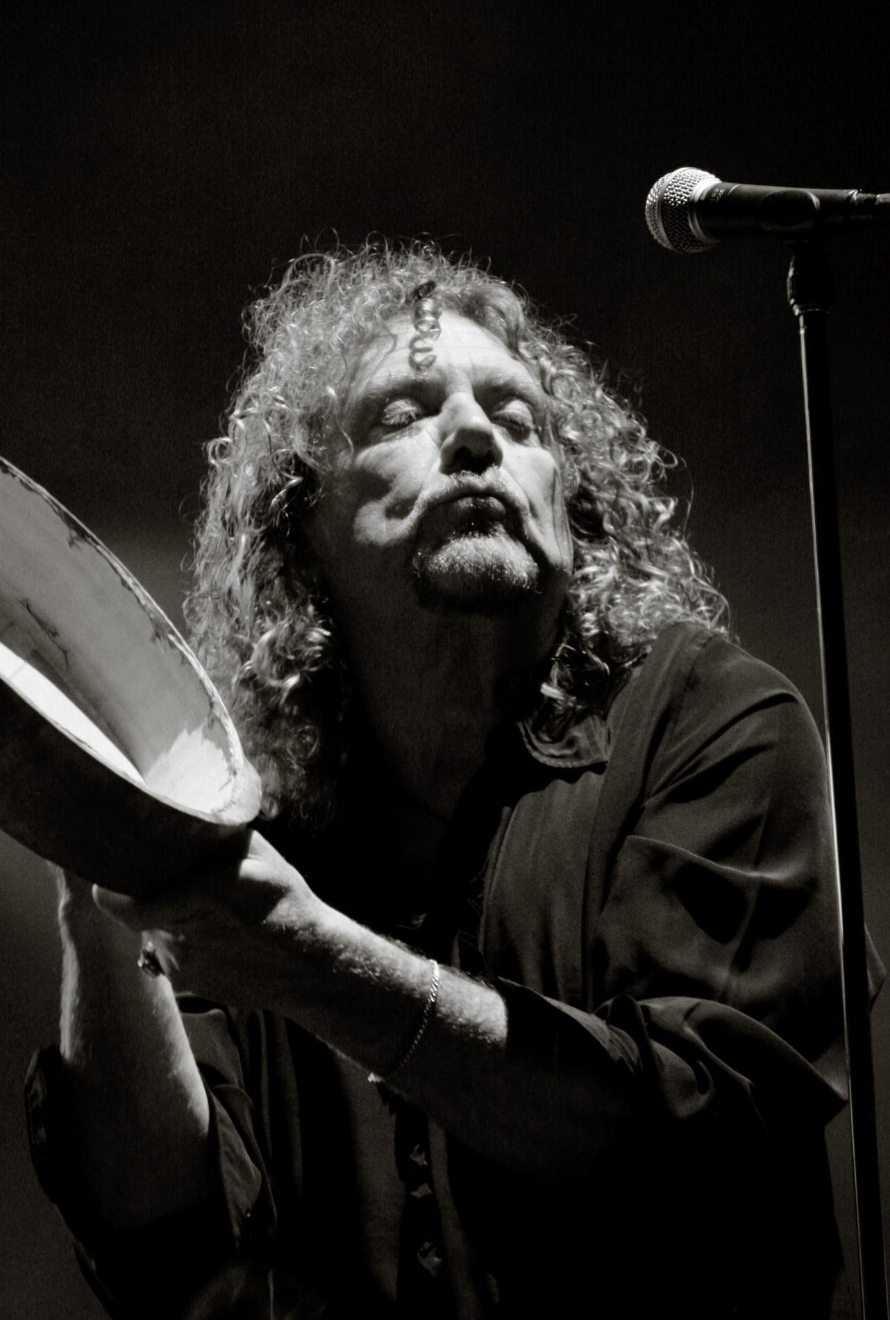Robert Plant a Rock en Seine le 26/08/05