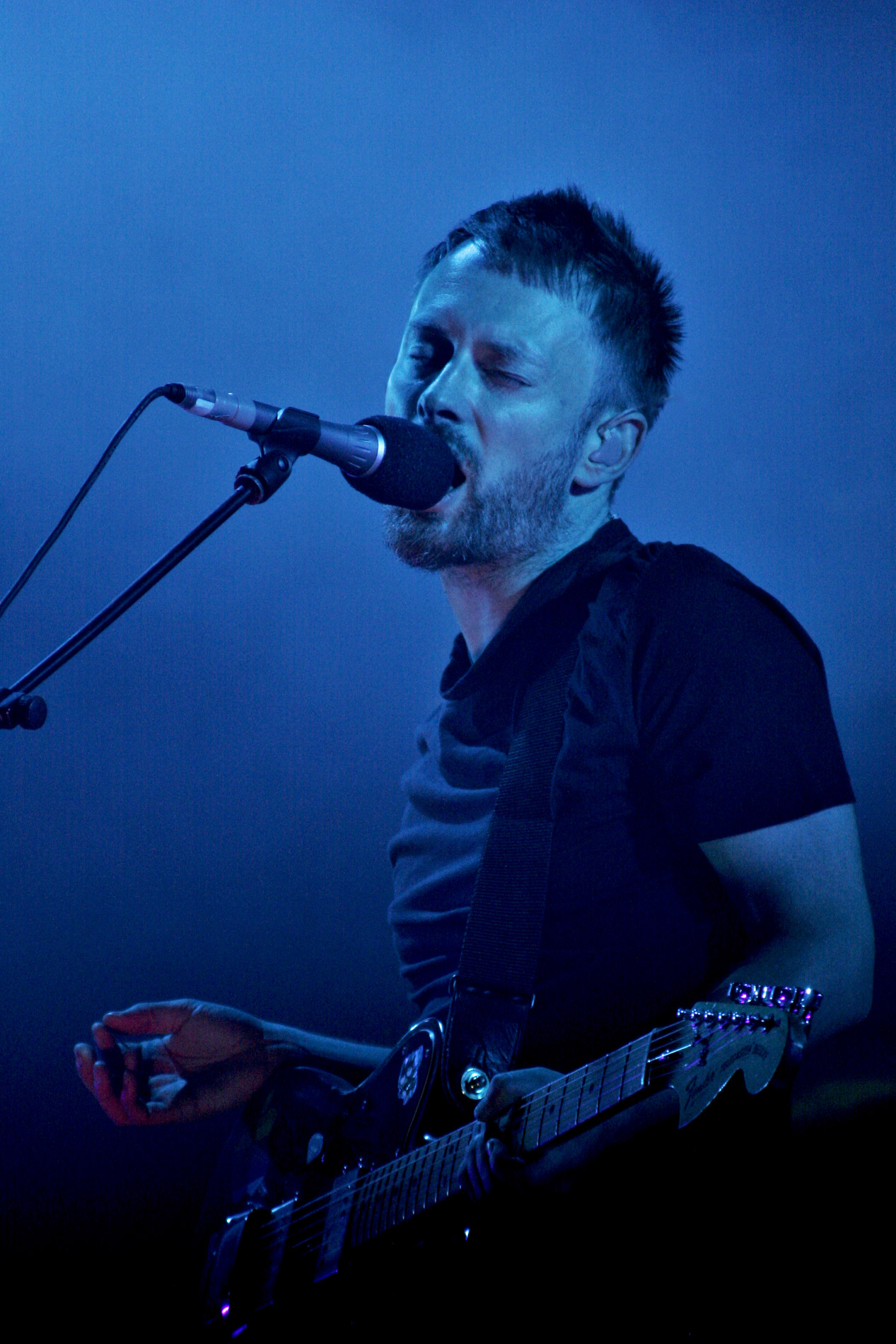 Radiohead au Festival Rock en Seine à Paris le 26 aout 2006