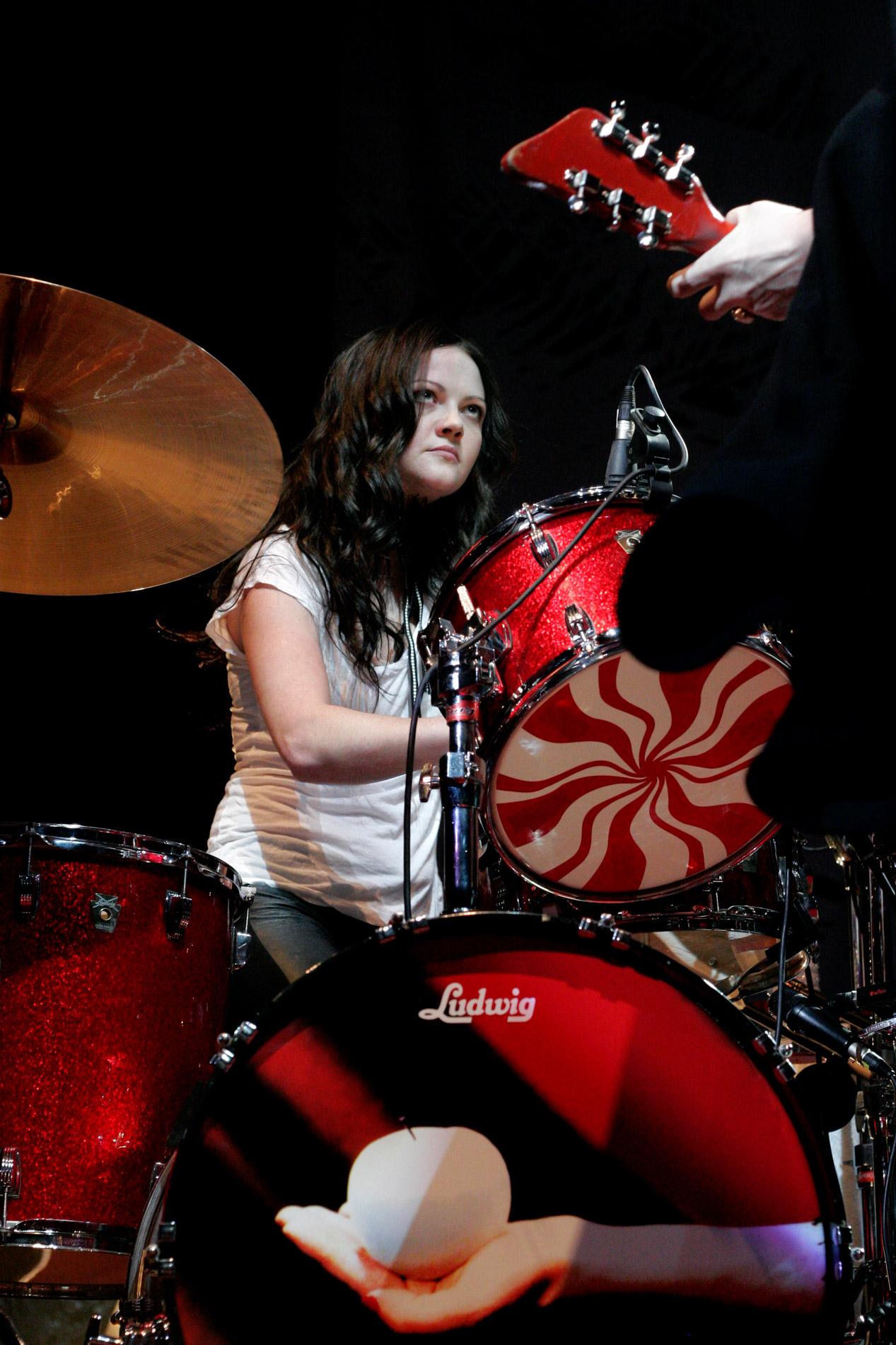 The White Stripes au Zenith le 16 octobre 2005