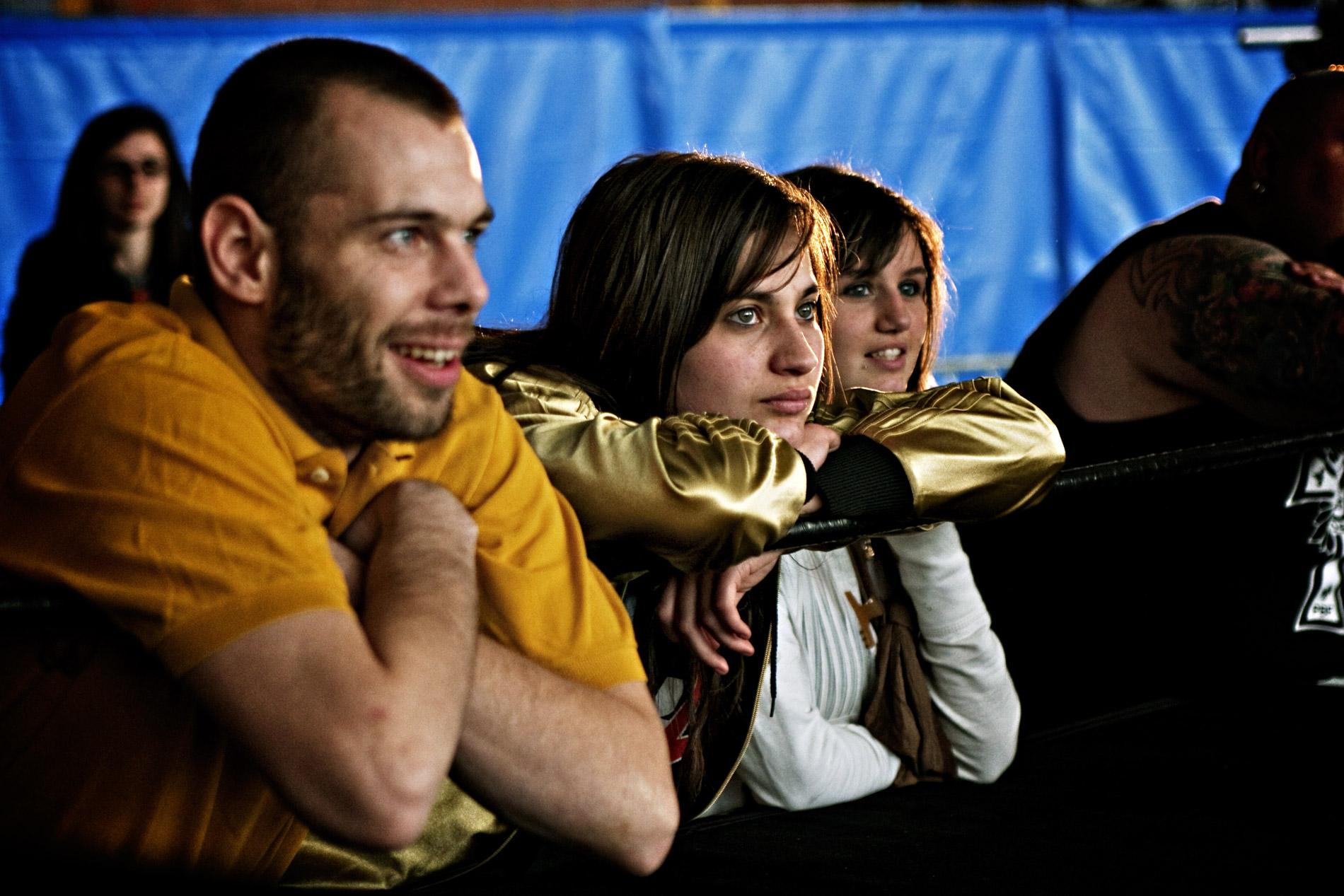 Catch-moi si tu peux : ta mère sur le ring - avril 2010