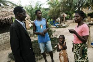 Refugies Ivoiriens a Buutuo, Liberia. thumbnail