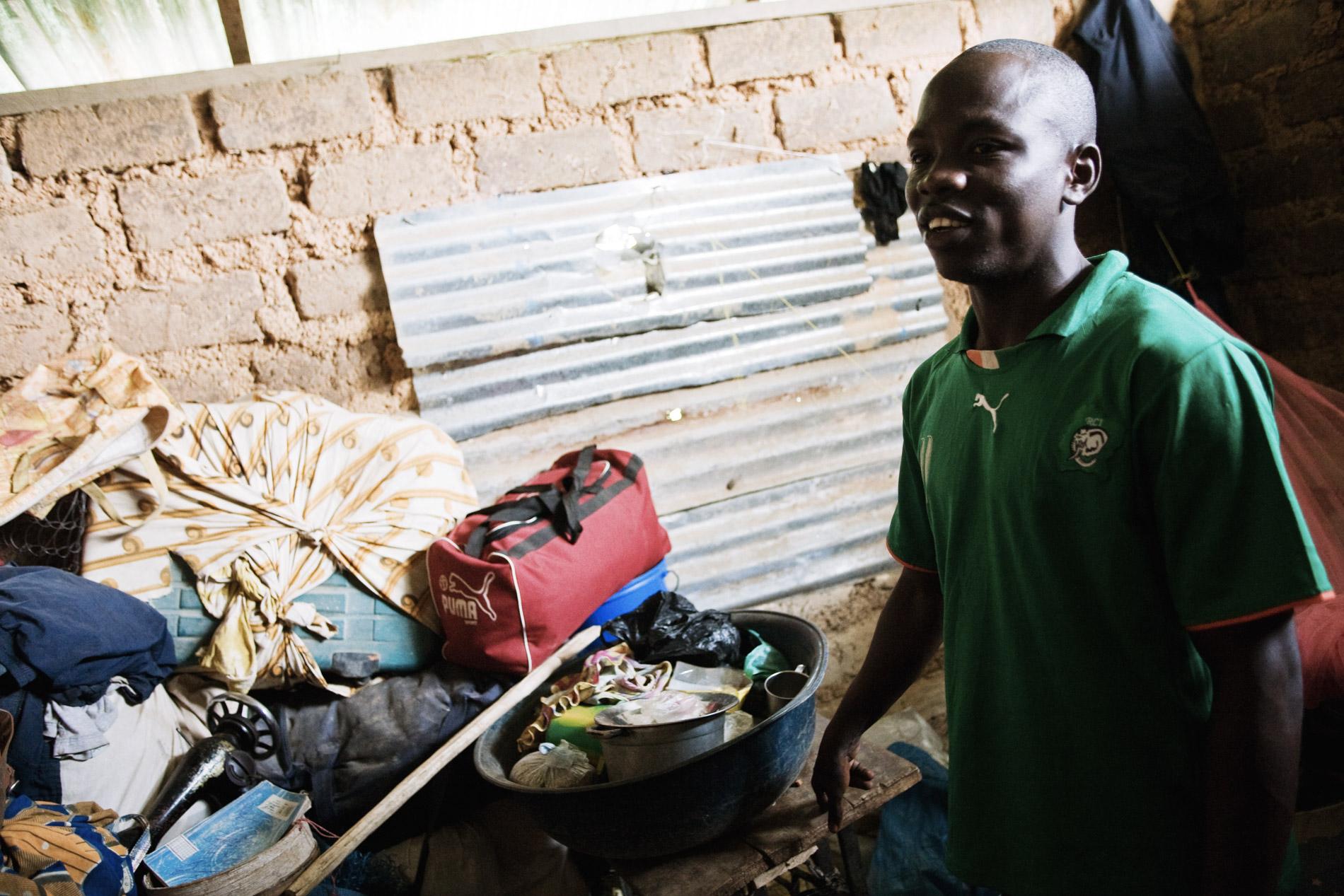 Refugies Ivoiriens a Buutuo, Liberia.