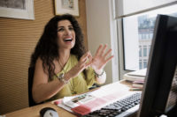 2010 - Portraits Joumana Haddad, journaliste et ecrivaine feministe libanaise. thumbnail
