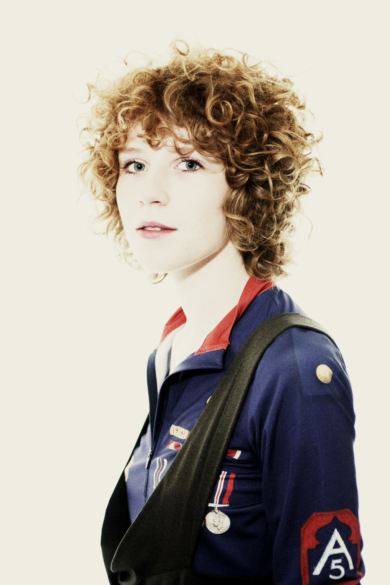 Portrait d'Alina Orlova, musicienne
