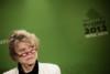 Conference de presse d'Eva Joly, candidate du parti Europe Ecologie Les Verts a l'election presidentielle, le 25 janvier 2012 au siege du parti a Paris thumbnail