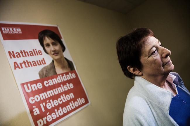 Arlette Laguiller, ancienne porte parole de Lutte Ouvrière