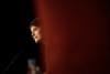 Meeting de Nathalie Arthaud, porte parole de Lutte Ouvrière et candidate a l'election presidentielle le 3 fevrier 2012 a Montreuil thumbnail