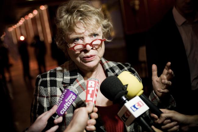 Eva Joly, candidate d'Europe Ecologie les Verts