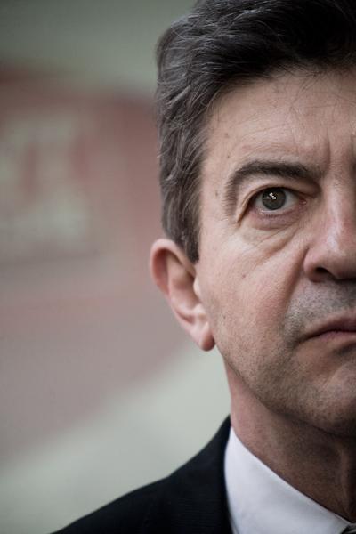 Jean-Luc Mélenchon, candidat du Front de Gauche à la présidentielle