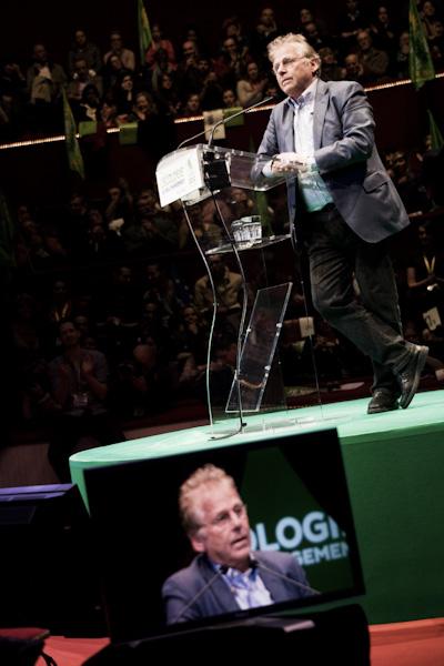 Discours de Daniel Cohn Bendit au dernier meeting d'EELV, le 18 avril 2012 a Paris.