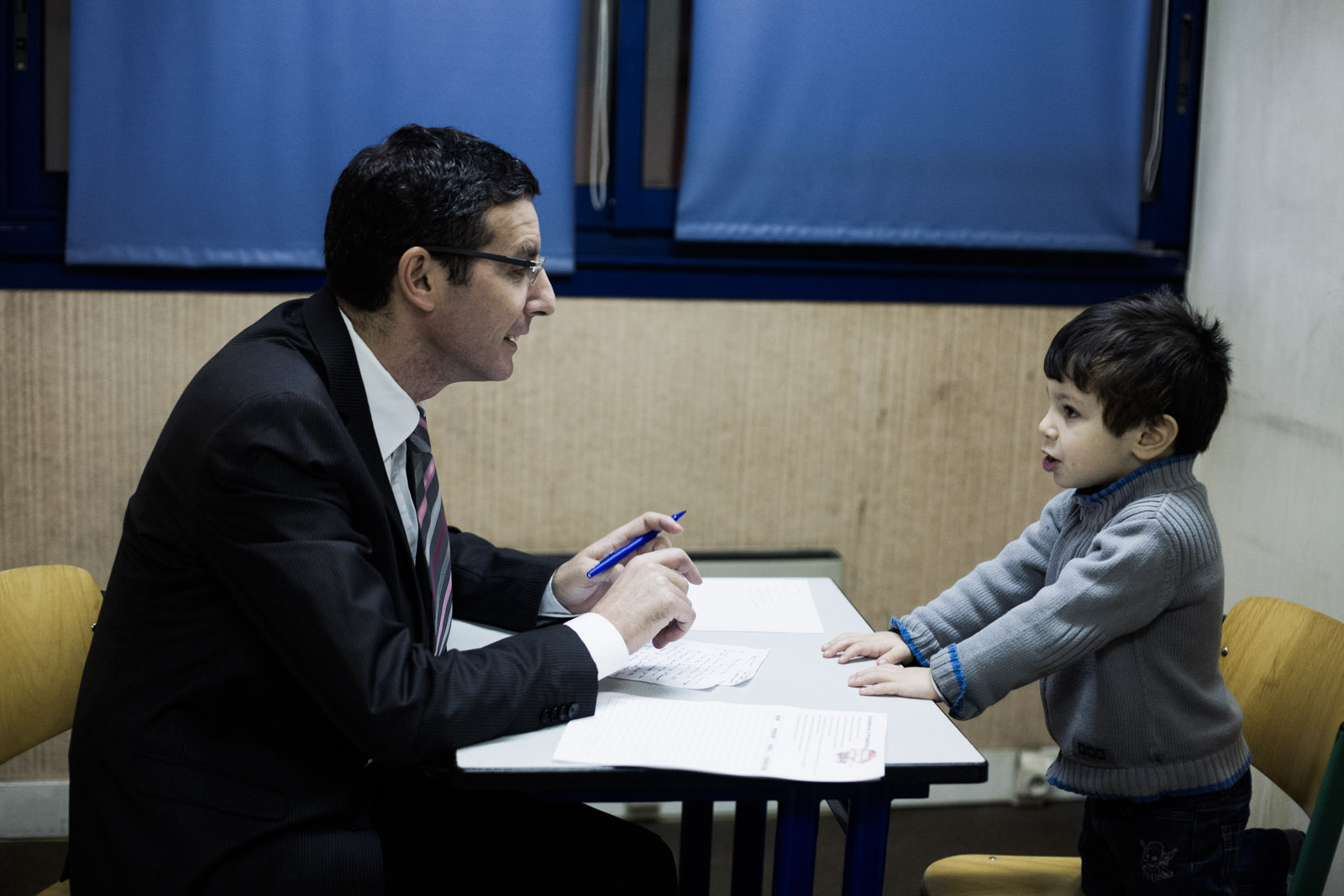 Inauguration du QG de campagne de Seïd Ferrat, candidat d'une liste citoyenne à Sevran, le 24 janvier 2014