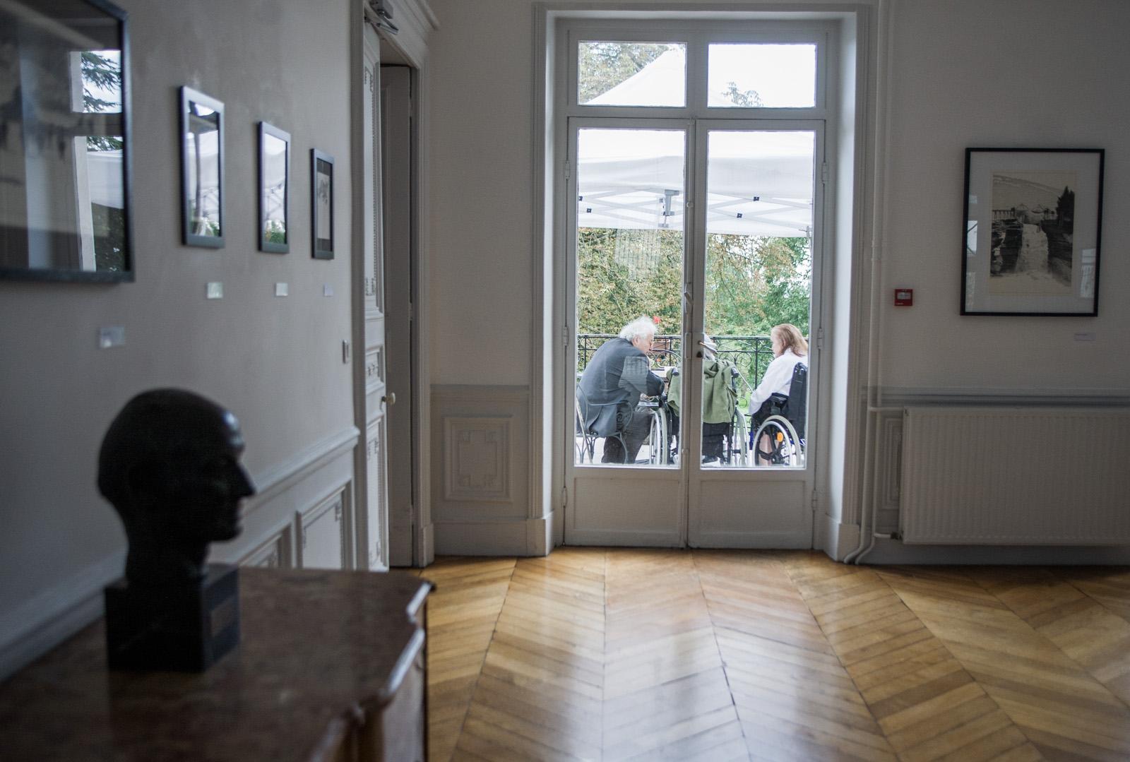 La Maison Nationale des Artistes, à Nogent sur Marne.