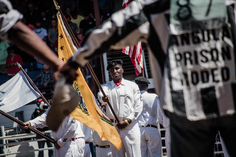 2015 - Rodeo dans la prison d'Angola