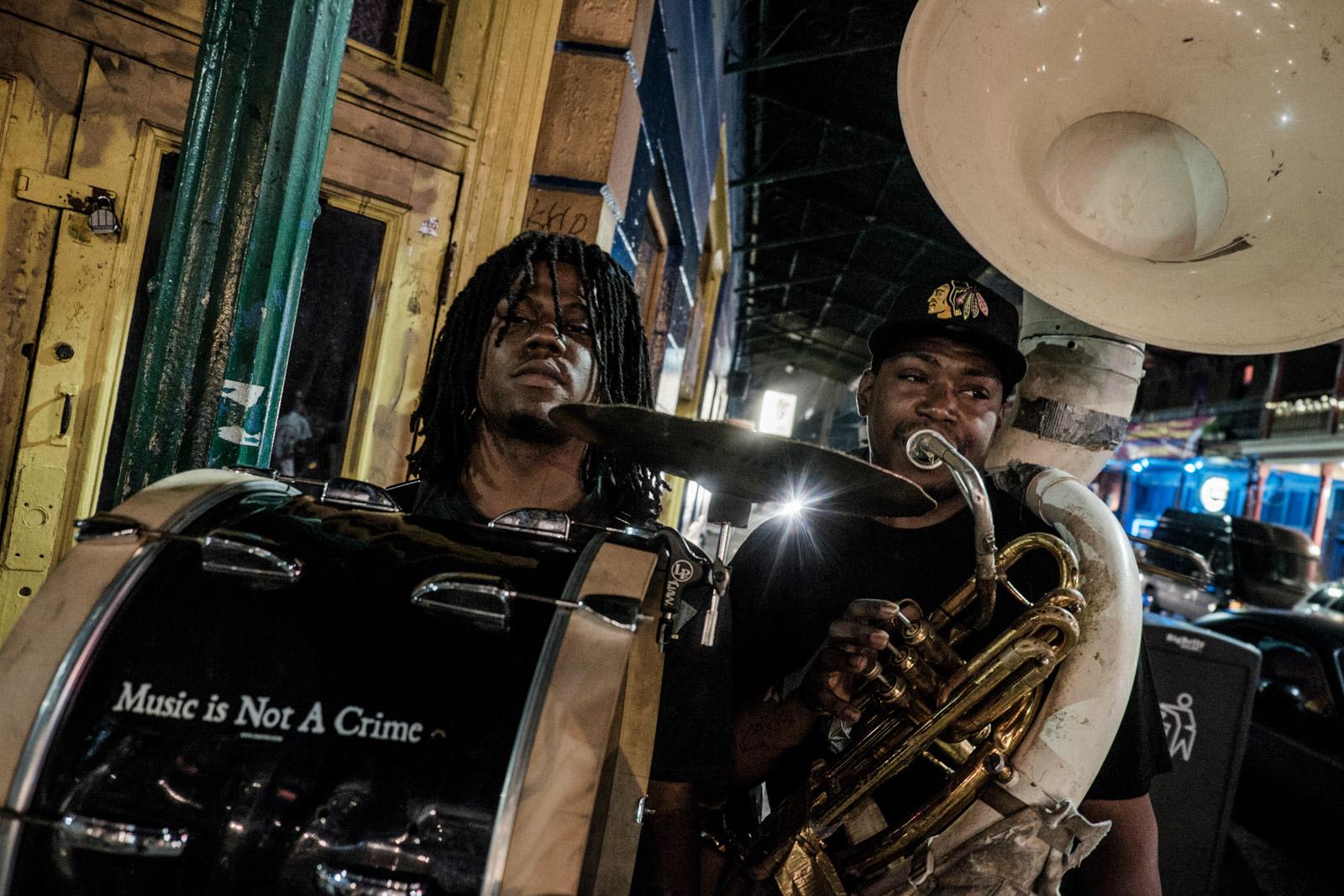2015 - Musiciens de la Nouvelle Orleans