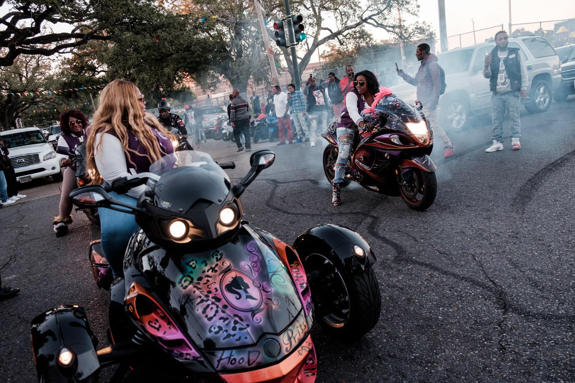 New Orleans - les Caramel Curves