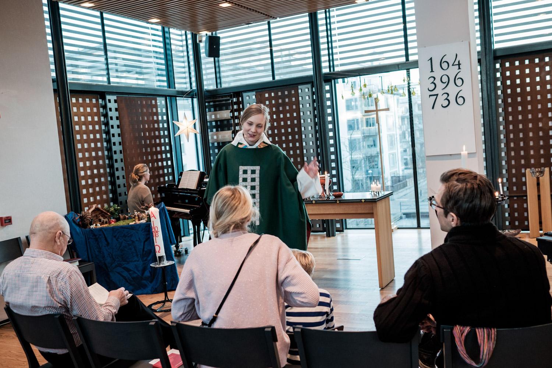 Suede : Le pasteur est une femme comme les autres