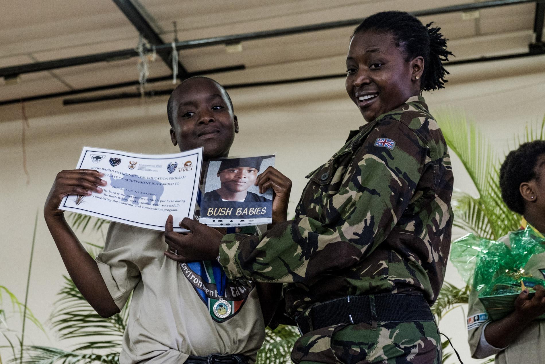 2018 - Les Black Mambas : une unite anti braconnage 100% feminine